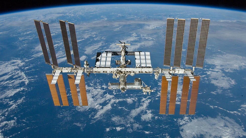Electrically Stimulated Antagonist Muscle Contraction Increased Muscle Mass and Bone Mineral Density of One Astronaut – Initial Verification on the International Space Station